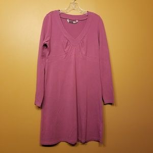 Athleta | Purple Active Shirt Dress (Size Large)